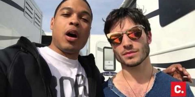 Ray Fisher - Ezra Miller