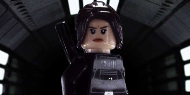 rogue one a star wars story trailer gets done in lego. Black Bedroom Furniture Sets. Home Design Ideas