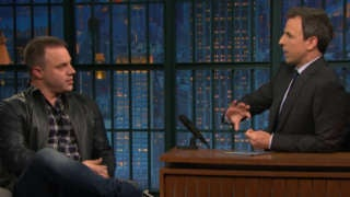 Seth Meyers Geoff Johns