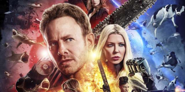 Sharknado The Fourth Awakens Poster