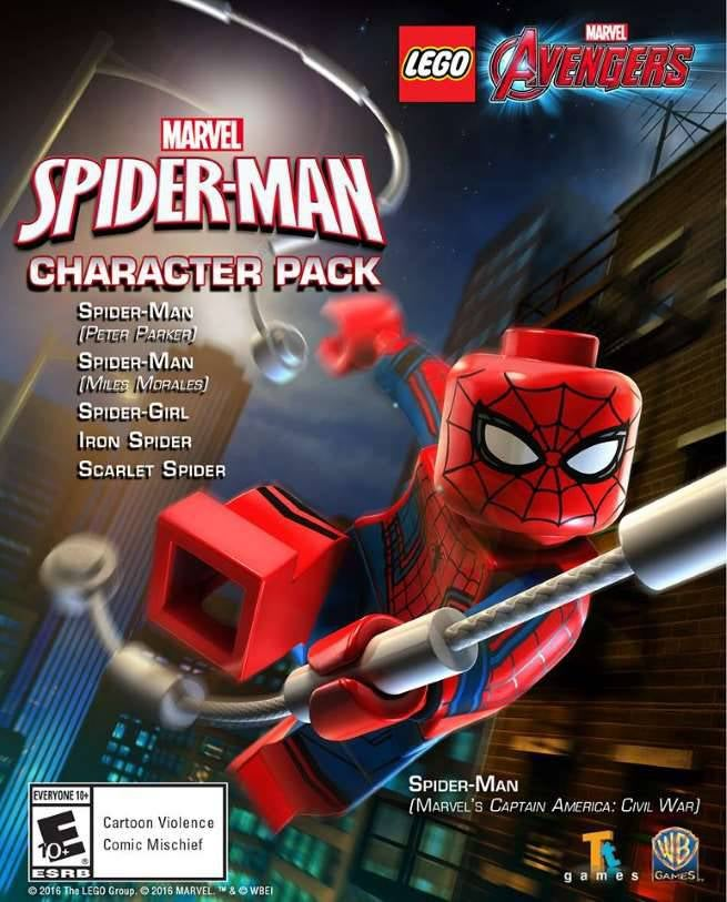 LEGO Marvel's Avengers: Spider-Man Character Pack 2016 pc game Img-2