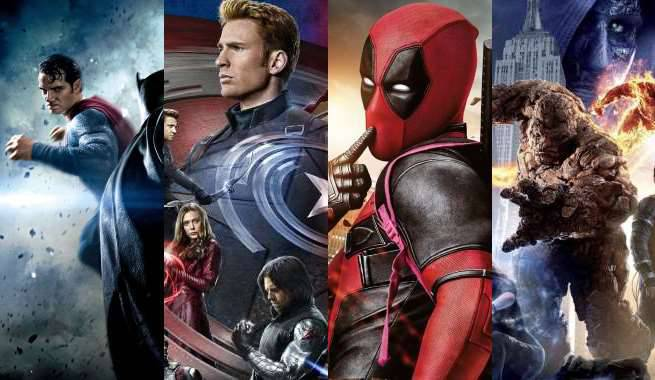 Batman V Superman, Civil War, Deadpool, And Fantastic Four Nominated For Teen Choice Awards