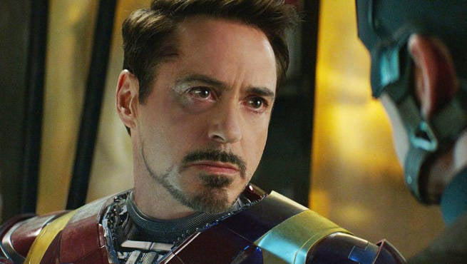 How Robert Downey Jr. Was Made Younger In Captain America ...