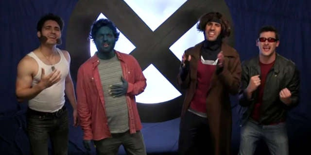 Xmen Parody Song