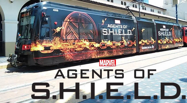 Ghost Rider joins the Agents of SHIELD