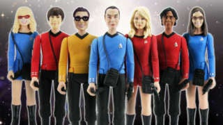 Big Bang Theory Star Trek Figures