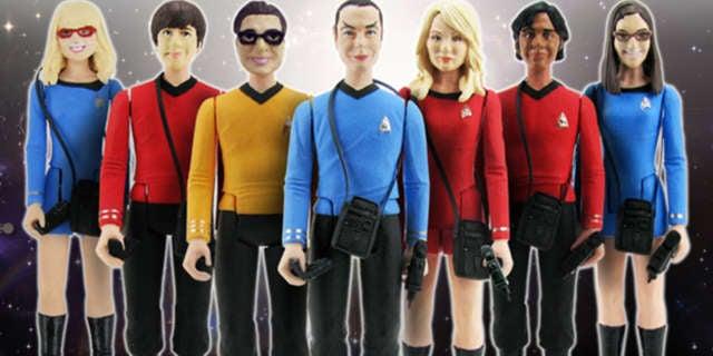 Big Bang Theory Star Trek Figures