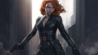 black widow concept art