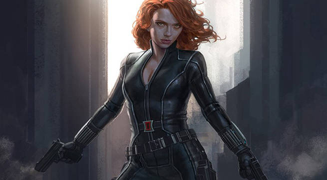 Alternate Look For Black Widow Revealed In New Captain