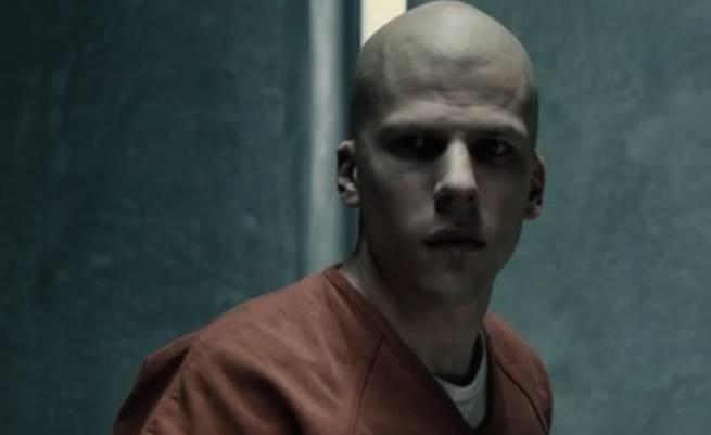 Eisenberg as Lex Luthor