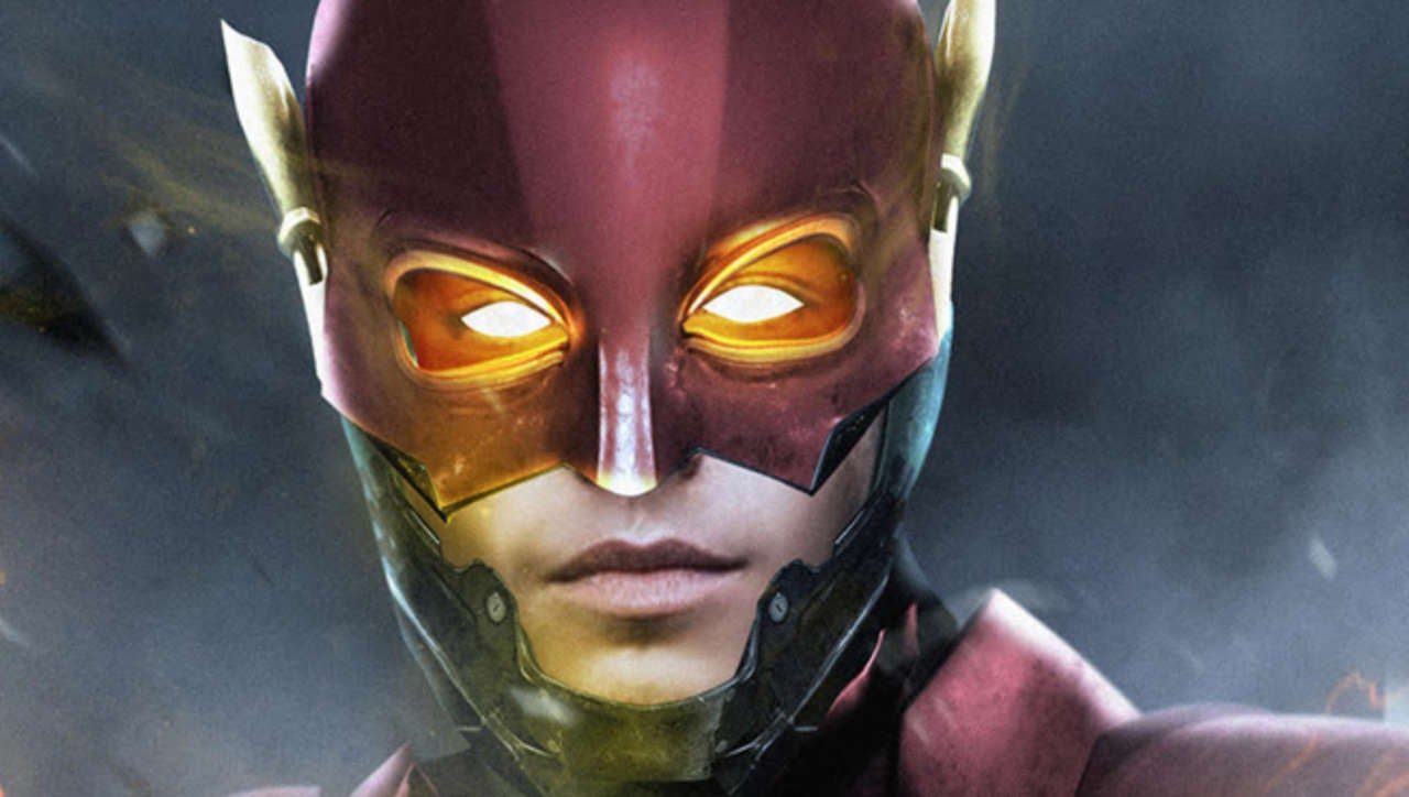 this is what ezra miller s flash costume might look like