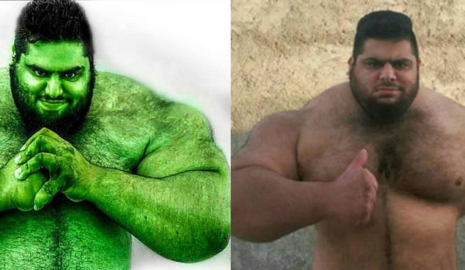 Iranian hulk kercules - 4a40