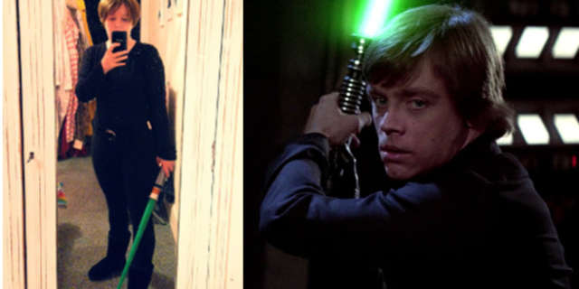 Mark Hamill Female Cosplayer