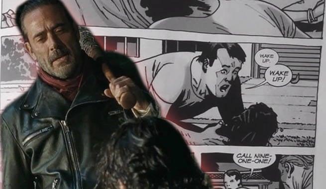 Negan S Room Twd Comics