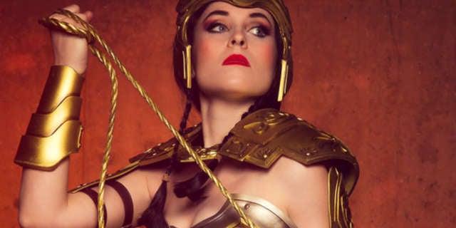 Nikita Cosplay Wonder Woman Injustice