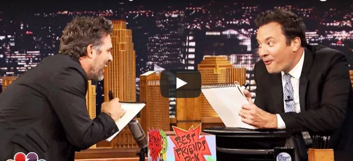 Mark Ruffalo & Jimmy Fallon Share An Incredible Favorite Superhero