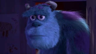 Sully Monsters Inc Sad Panda