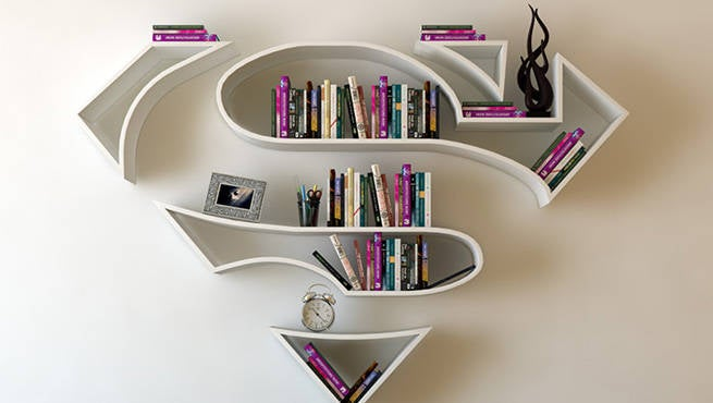 Superhero bookshelf designs are amazing - Amazing shelves ...
