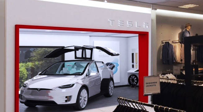 Tesla Partners With Nordstrom To Sell Electric Vehicles