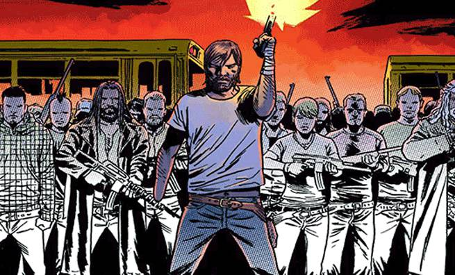 The Walking Dead Rick Grimes Coloring Book Cover Revealed
