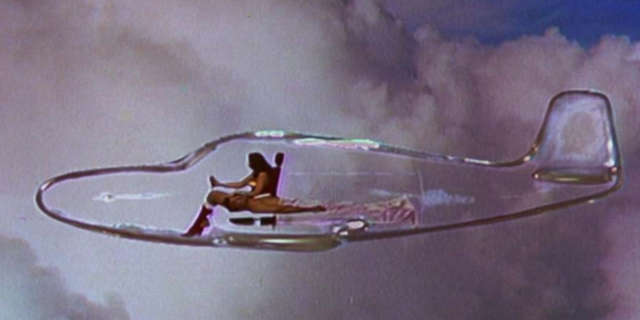 Wonder Woman Invisible Jet