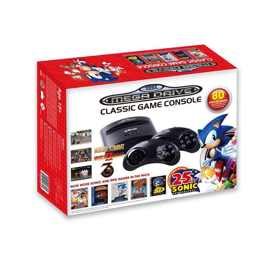 Sega reveals genesis classic edition rerelease - Sega genesis classic game console games ...