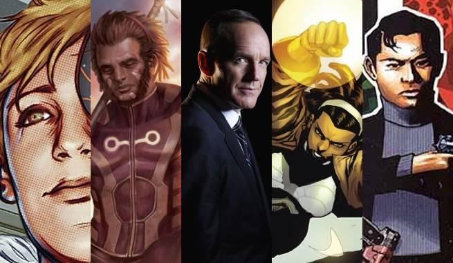 marvel comics s.h.i.e.l.d. characters