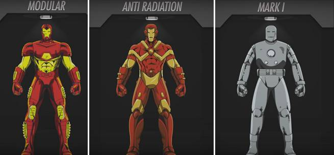 Tony Stark Iron Man Suit
