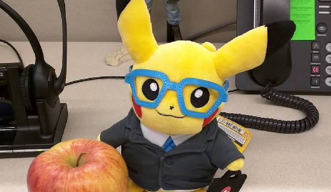 business pikachu