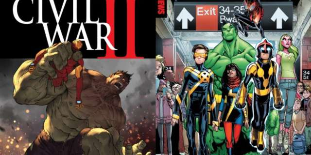 CW2 Marvel Now Midnight Release