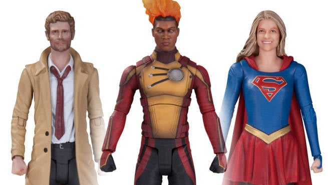 DC Collectibles CW Figures