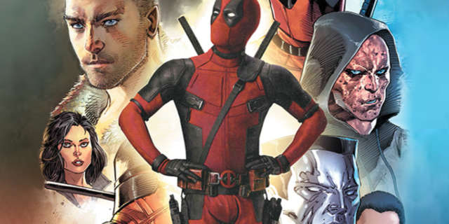 Deadpool SDCC2016 Poster by Rob Liefeld Header