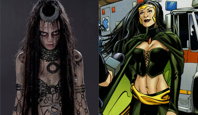 enchantress almost looked more like her comic book