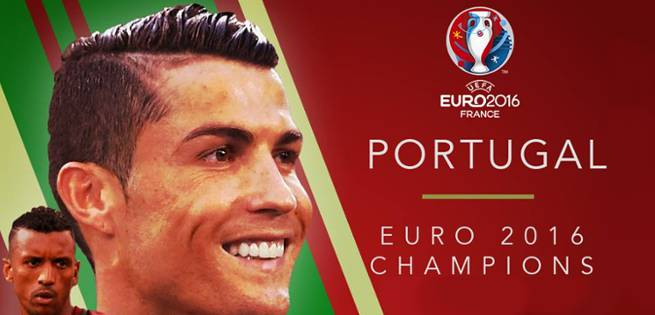 Portugal Wins First Ever UEFA Title On Dramatic Extra-Time Kick