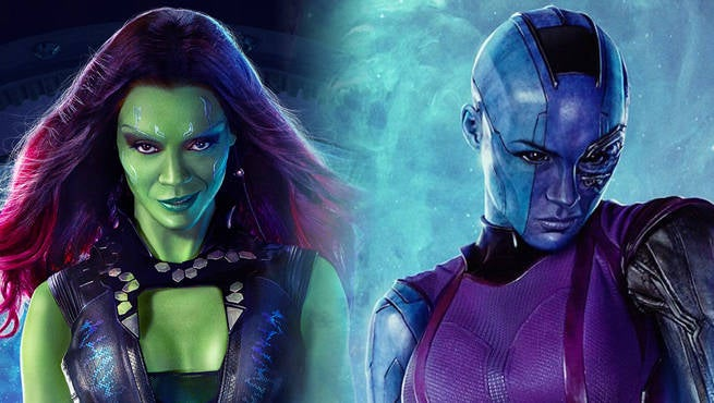 gamora and nebula relationship goals