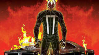 Ghost Rider Car Agents of Shield Season 4 SDCC