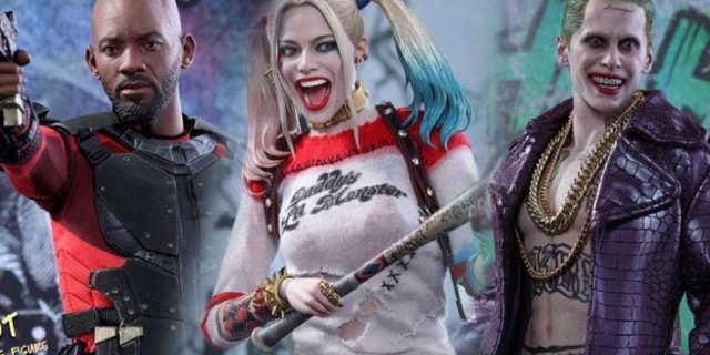 Hot Toys Suicide Squad Figures Header