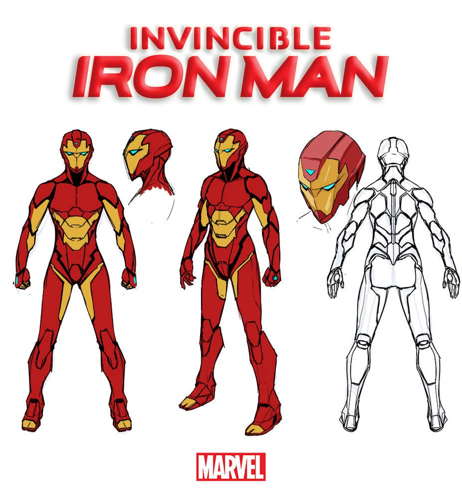 Invincible Iron Man Riri