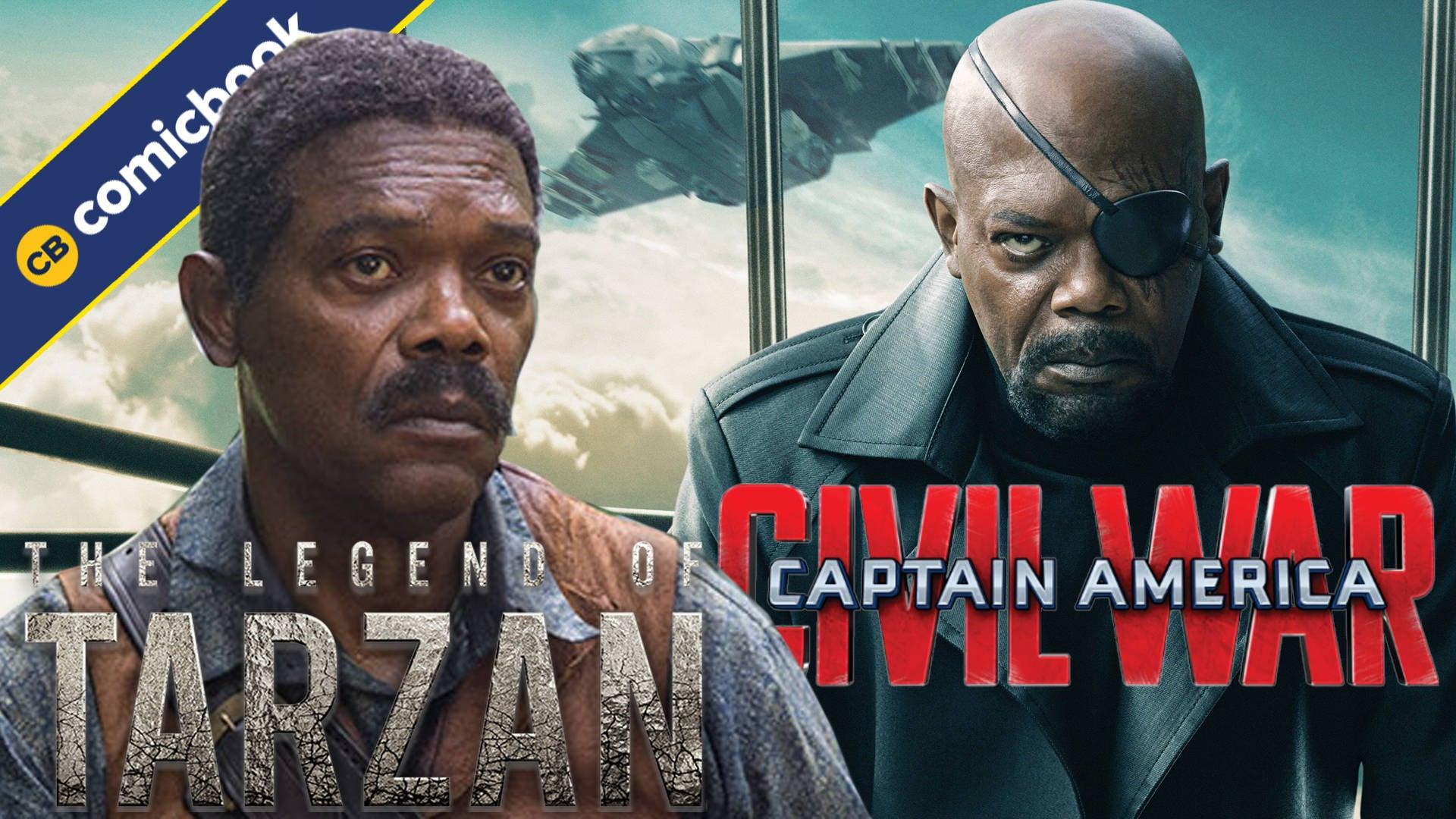 Samuel L. Jackson Tried To Be In Captain America: Civil War, Talks Tarzan