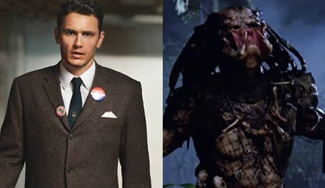 James Franco Rumored For Shane Black's Predator