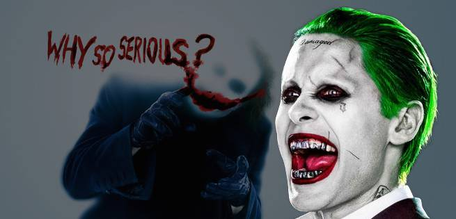 Jared Leto Is Walking On Hallowed Ground With Joker Role Joker Smile Png