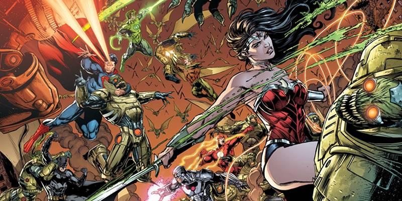 Justice League Battle Darkseid Apokolips Steppenwolf