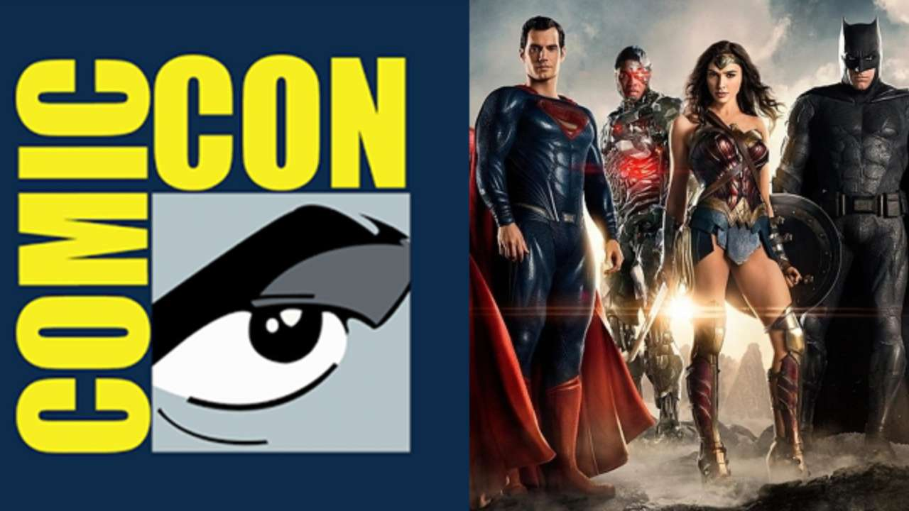 Justice League Comic-Con Trailer Panel