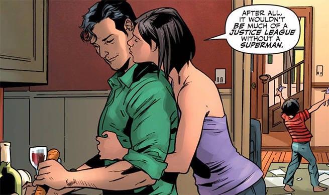 Justice League RB 1 Clark Lois