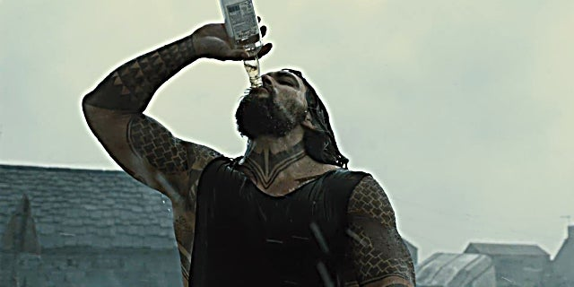 Justice League Trailer - Drunk Aquaman