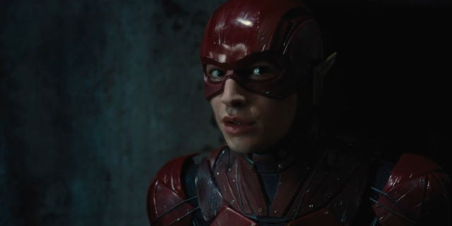 Justice League Trailer - Ezra Miller as Flash