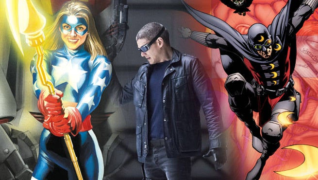 Legends of Tomorrow JSA Doom Header