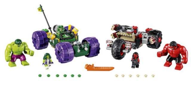 lego hulk vs red hulkh 2016