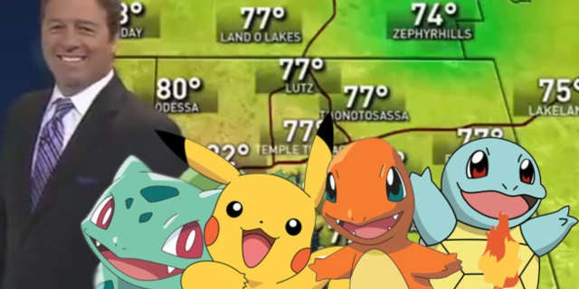 Live Weather Pokemon