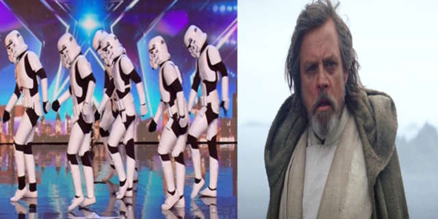 mark hamill dancing stormtroopers